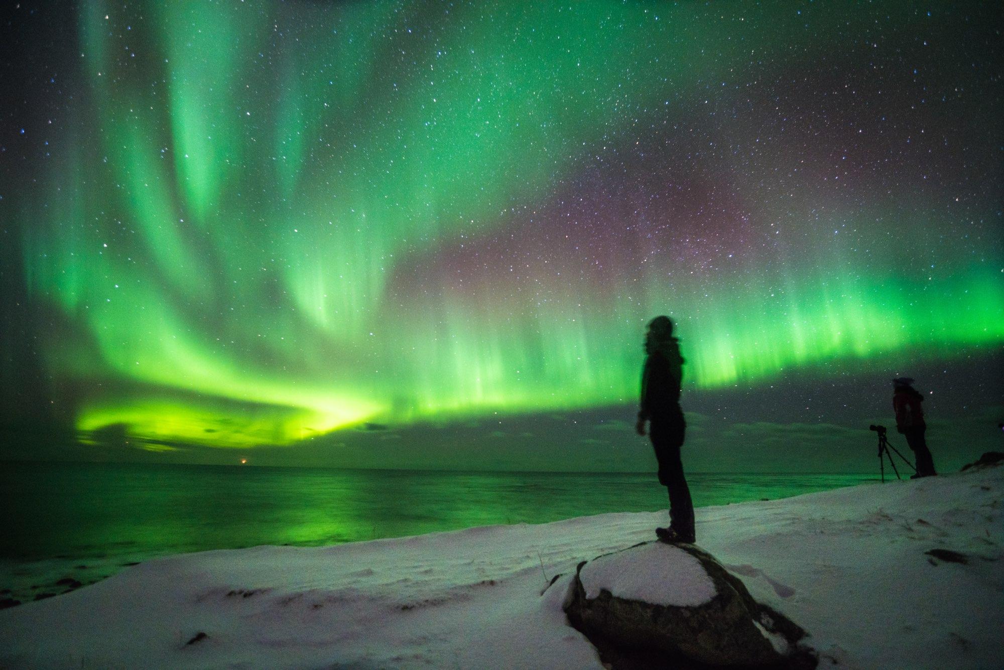 lofoten aurora - camminatefotografiche