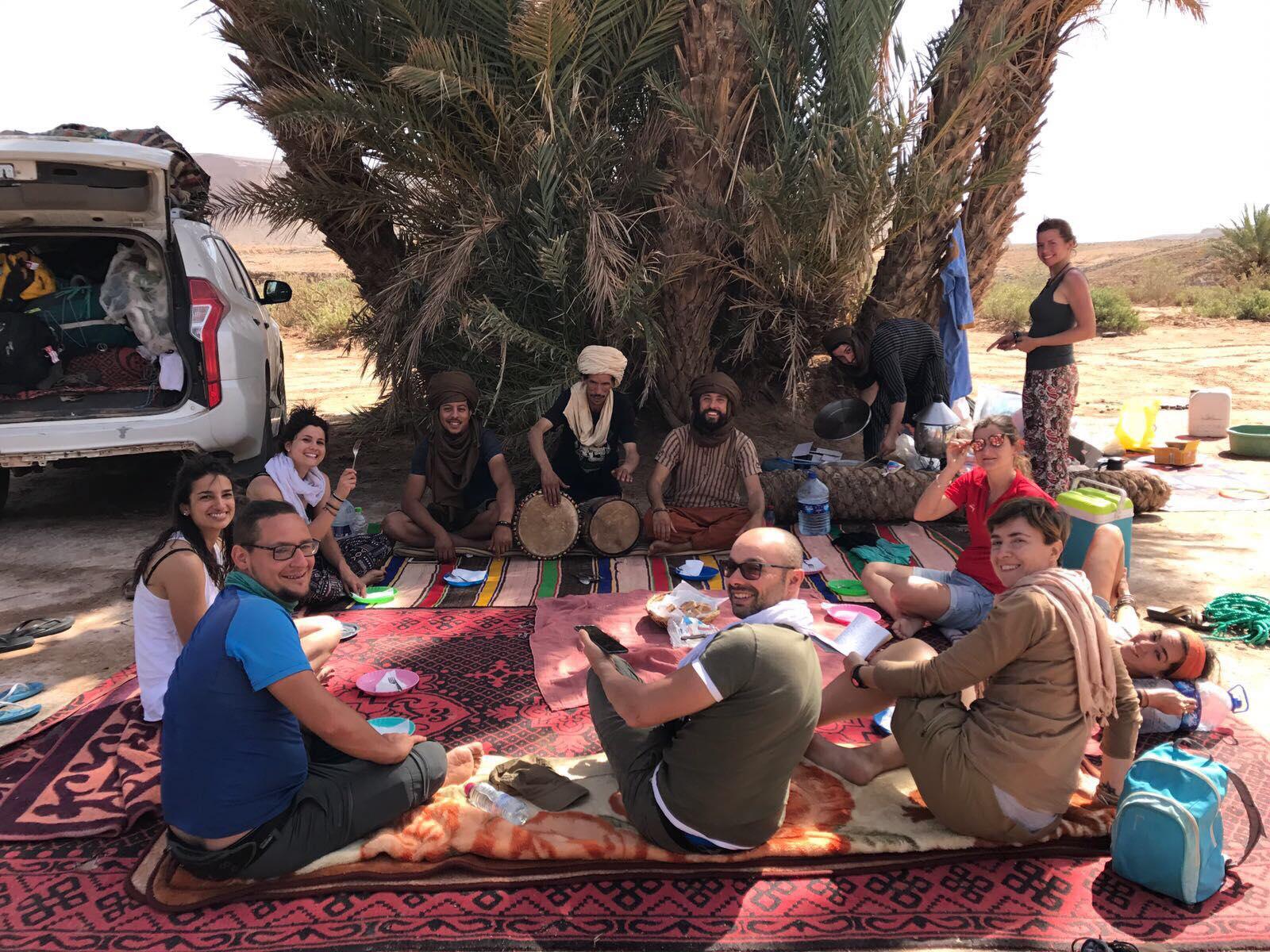 pranzo oasi marocco - camminatefotografiche