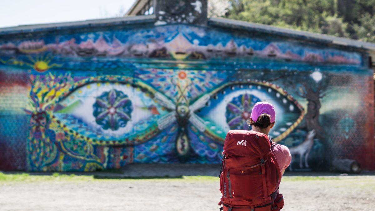 via degli dei murales - camminate fotografiche