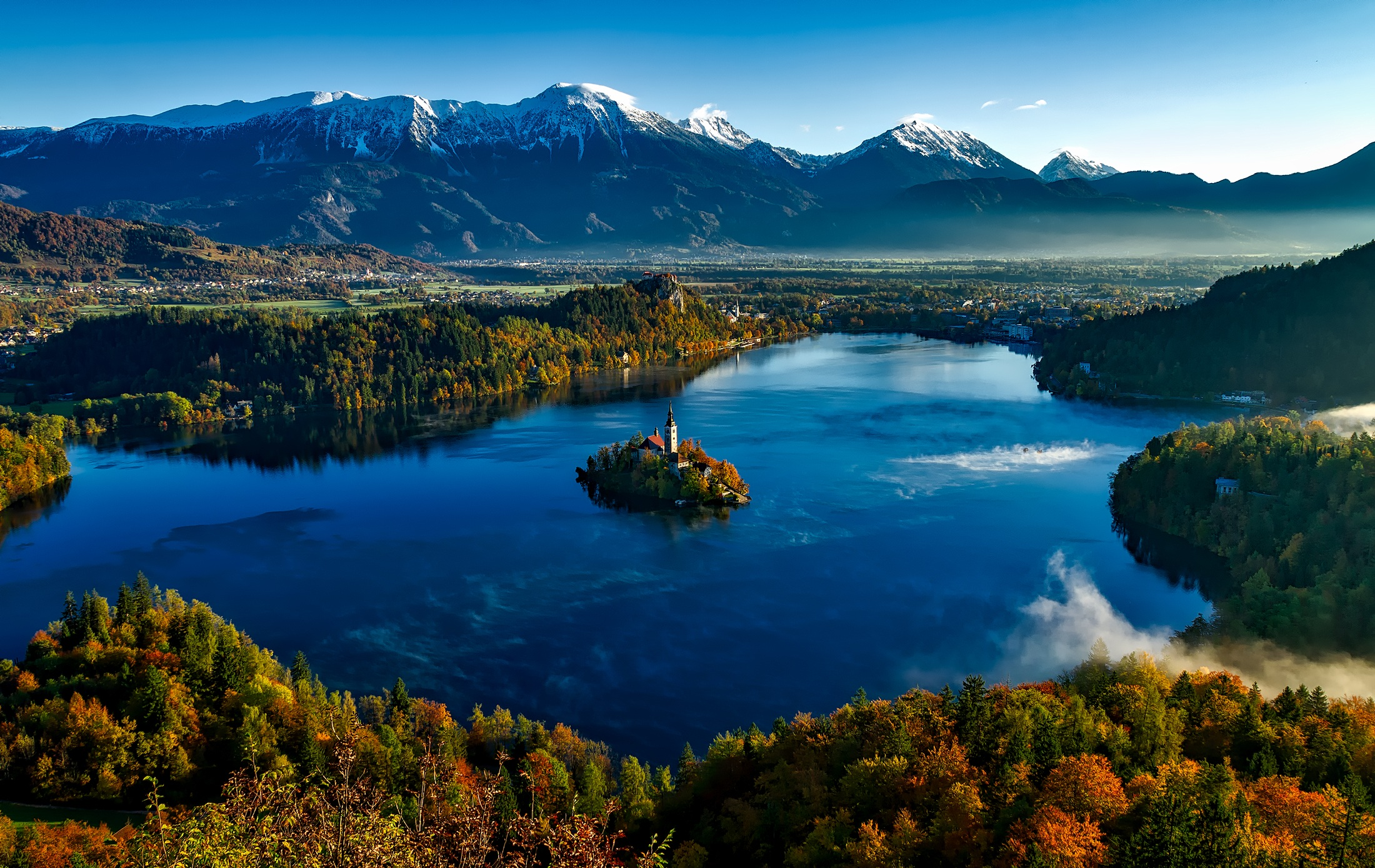 lago di bled - slovenia - camminate fotografiche