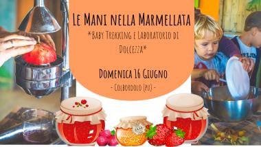 MARMELLATA - BIMBO IN TREKKING
