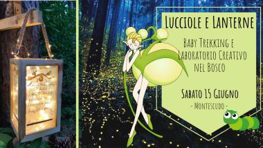 lucciole - montescudo - bimbo in trekking