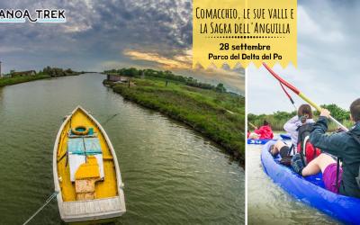canoa trek delta del po