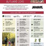 calendario bimbo in trekking - autunno