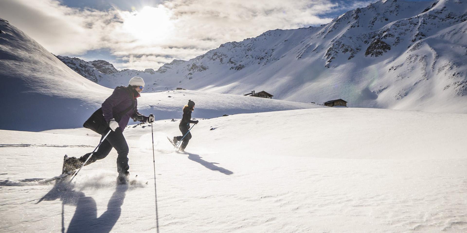 ciaspole, arrampicata su ghiaccio