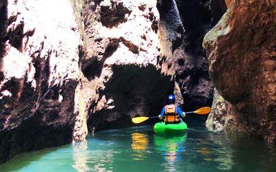 canoa e canyoning val di non