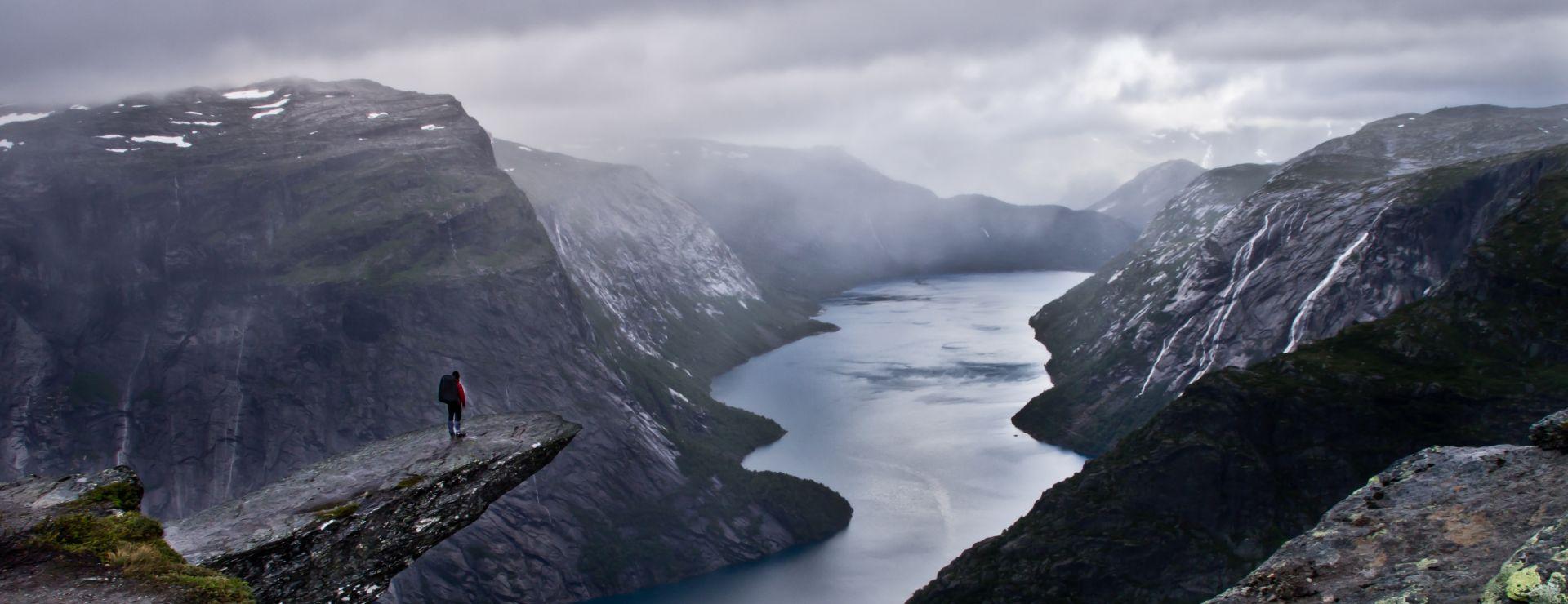 preikestolen, norvegia, camminate fotografiche